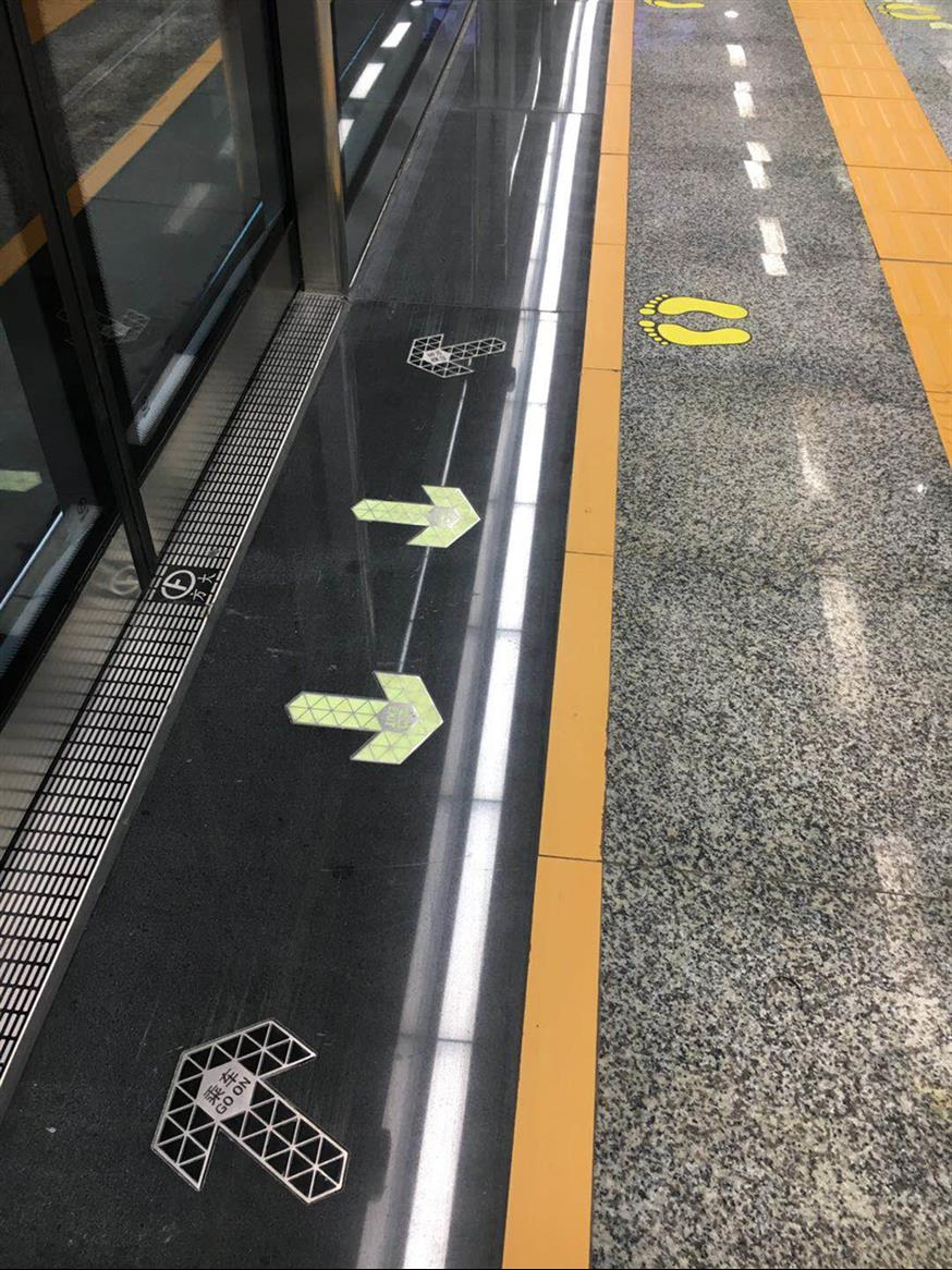 徐州蓄光高亮度夜光地铁疏散标识批发