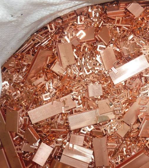 白焦回收铜沙加工
