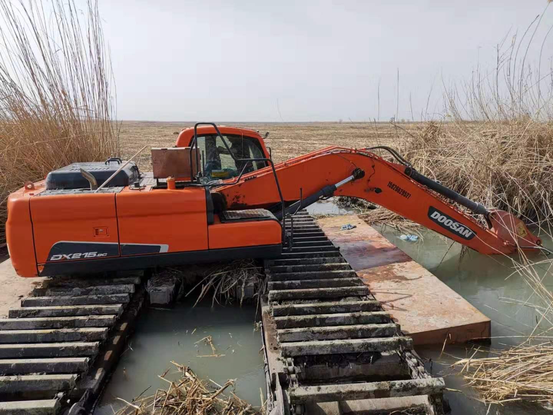 漳州水陆挖机出租价格