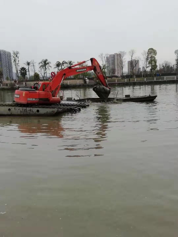 徐州水上挖掘机出租价格