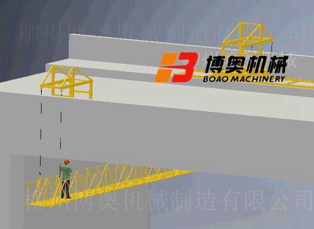 喷漆防腐桥底检修车施工方案