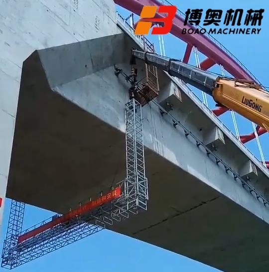 保定桁架桥检车案例分析