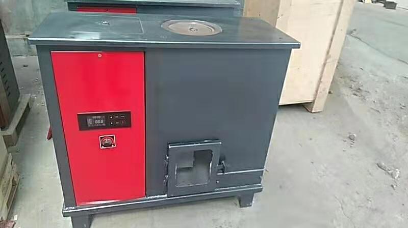 福州全自动150平米颗粒水暖炉价格 生物质颗粒地暖水暖炉 节能