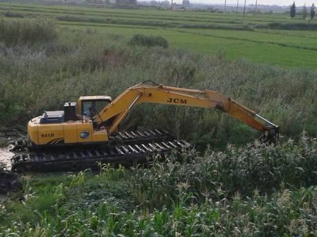 济南水陆两用挖掘机租赁