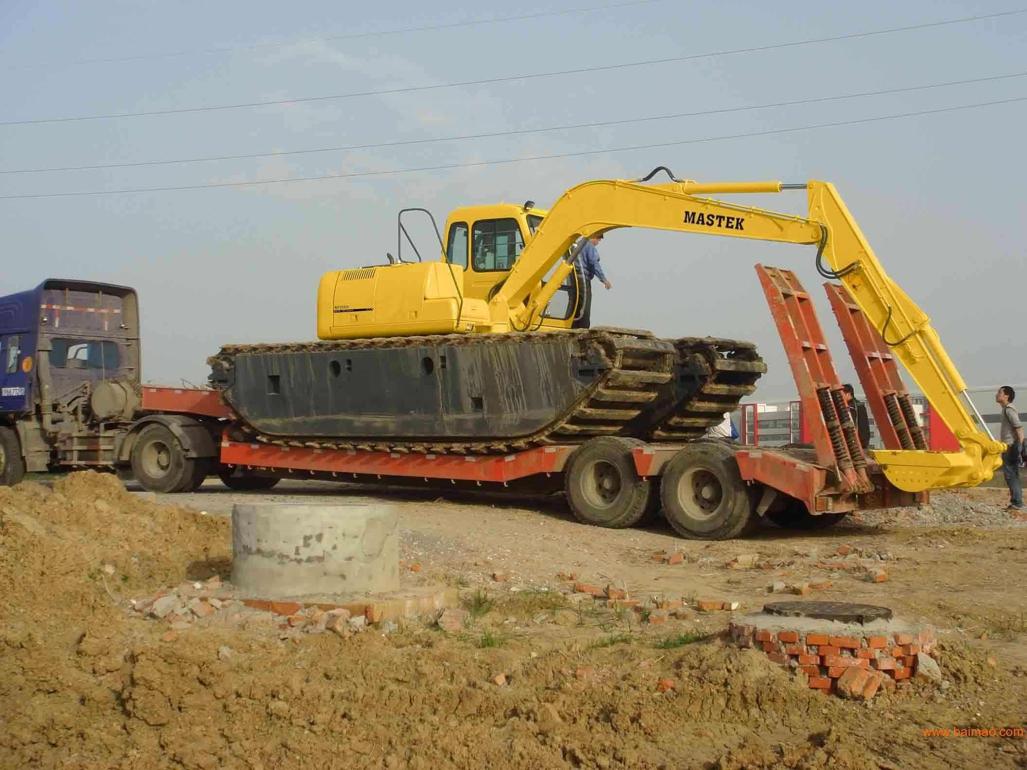 三明水陆挖机出租价格