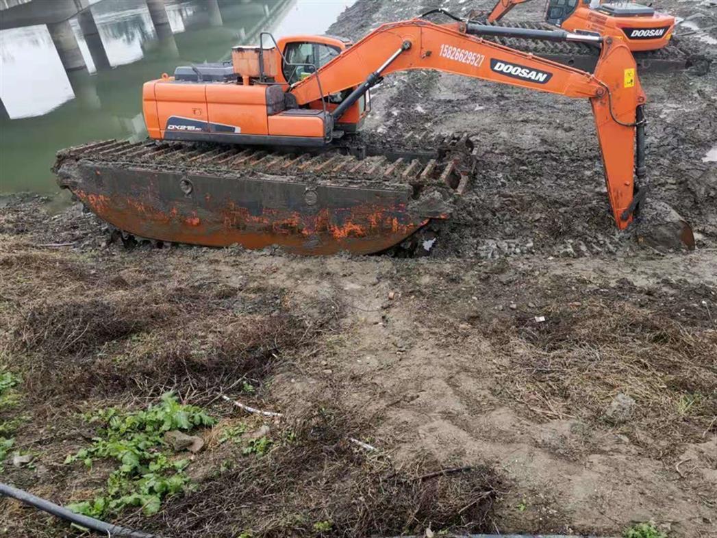 珠海水上挖掘机出租