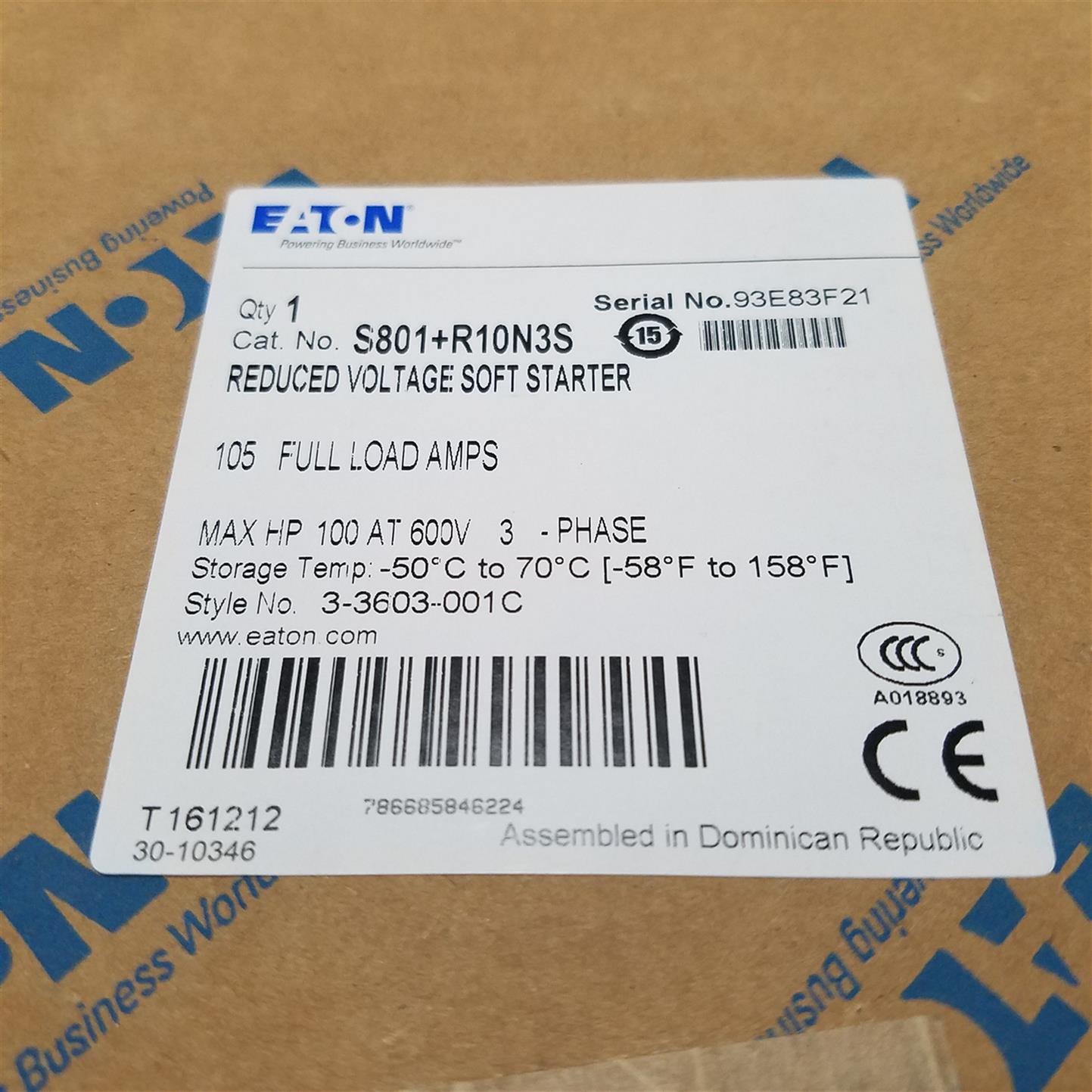 S811+T24P3SEATON伊顿穆勒S801系列软启动器价格