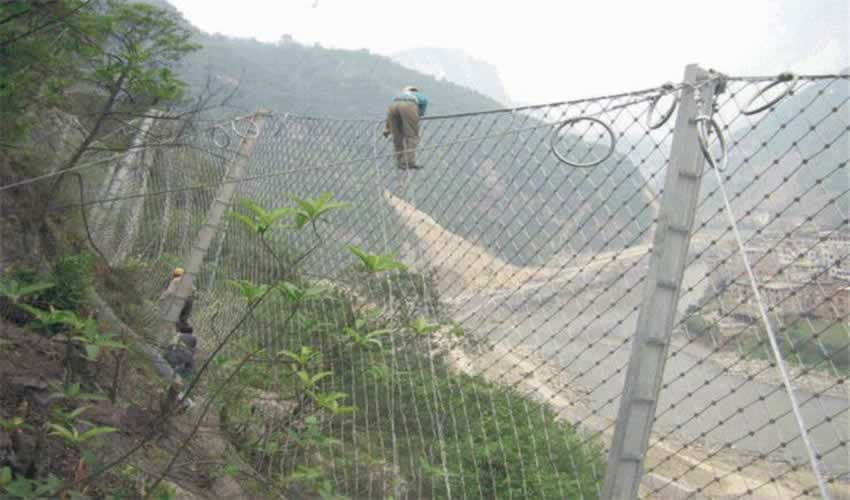 海口拦石被动防护网型号
