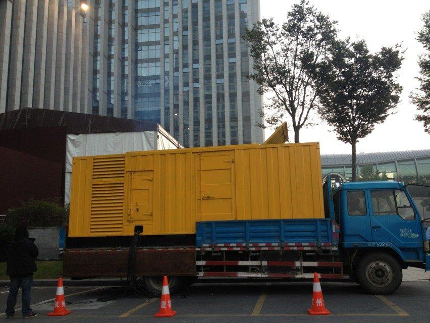 北京静音环保发电车租赁规格