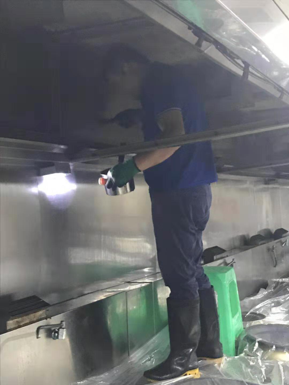 古蔺县大型油烟管道清洗