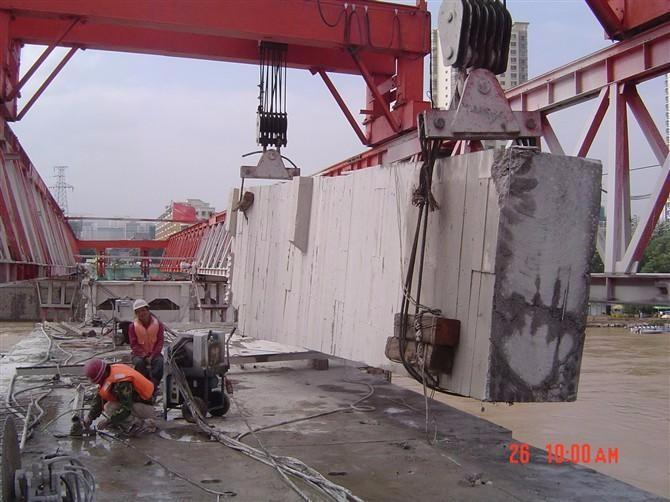 福州桥梁拆除 桥墩静力切割拆除费用