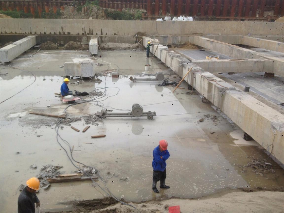 蚌埠桥梁拆除 桥墩静力切割拆除价格