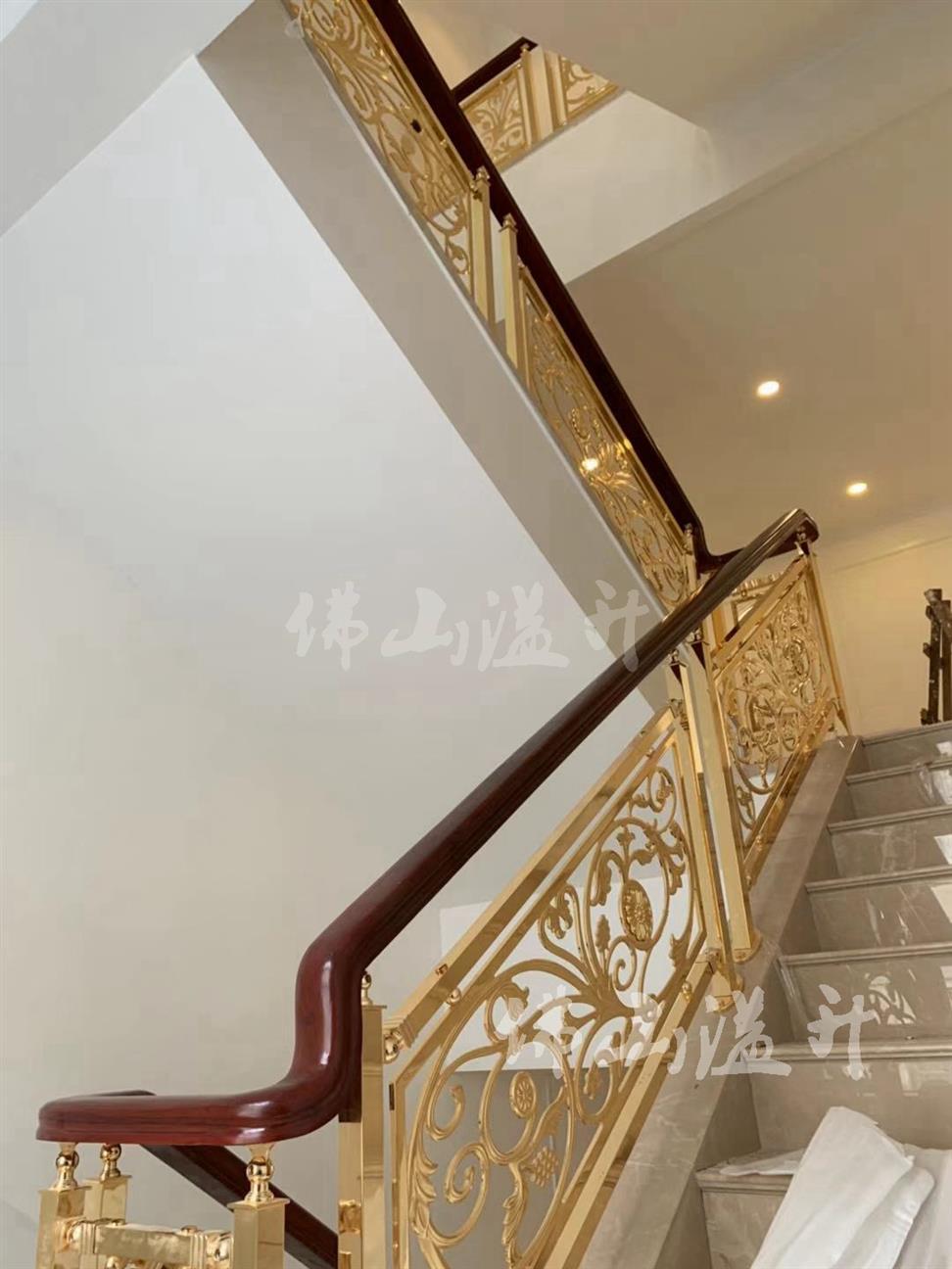 台州精品铜艺楼梯扶手厂