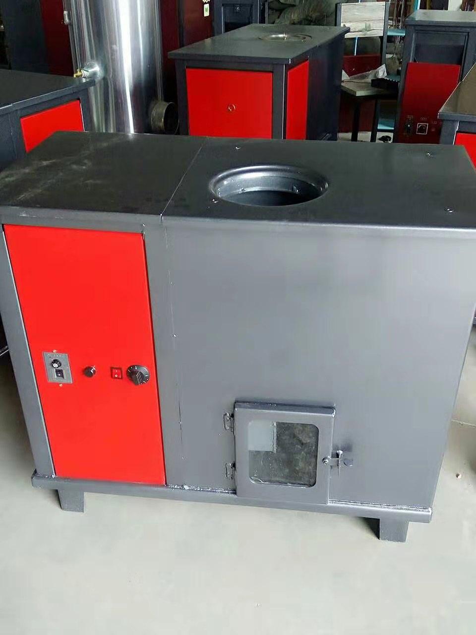 济南全自动150平米颗粒水暖炉批发 生物质颗粒地暖水暖炉 低碳