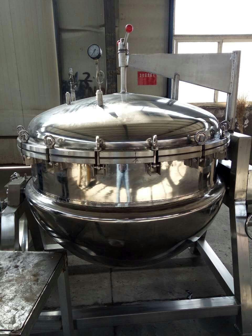 衡阳搅拌夹层锅