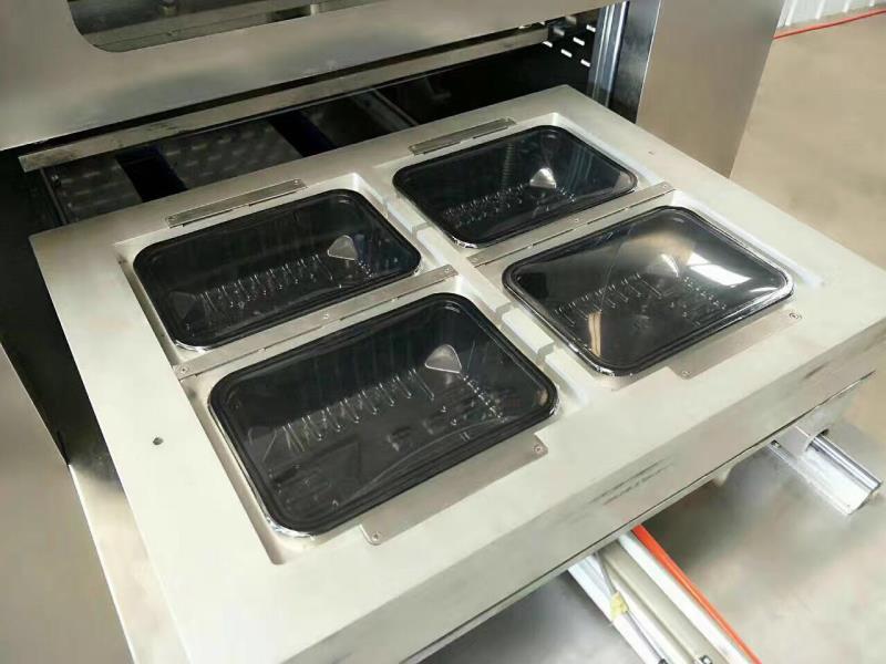 天津牛肉干贴体包装机