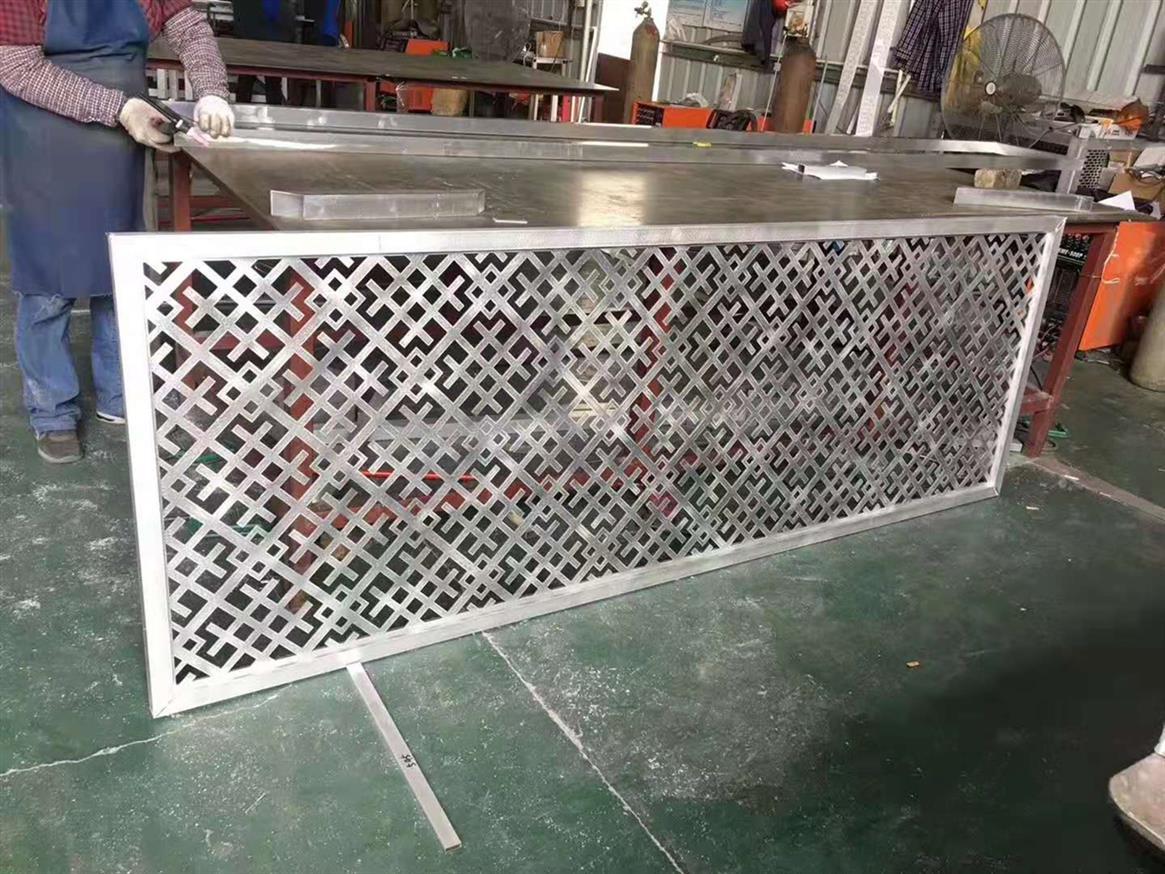 杭州铝窗花定制