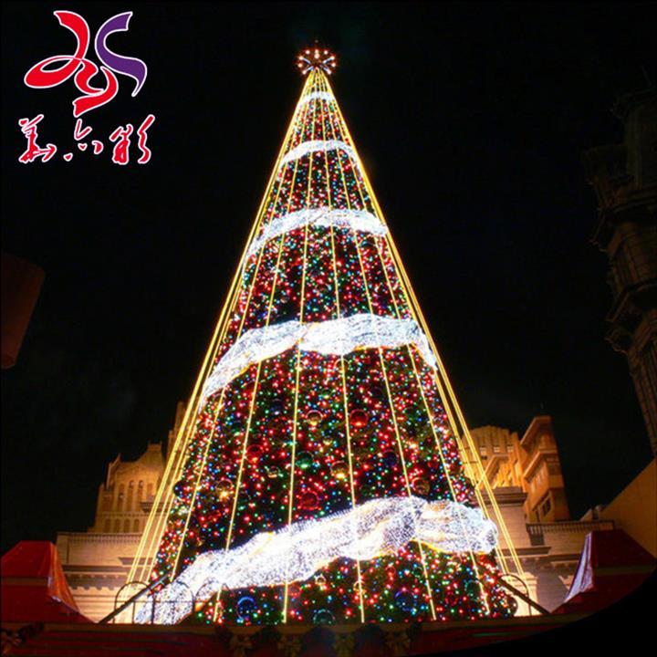 大型圣诞树制作