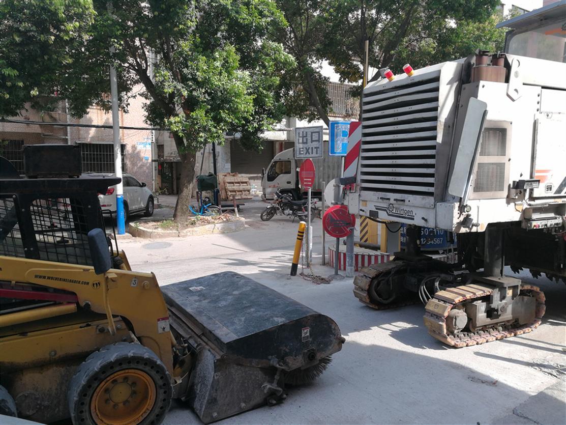 广州沥青路面修补