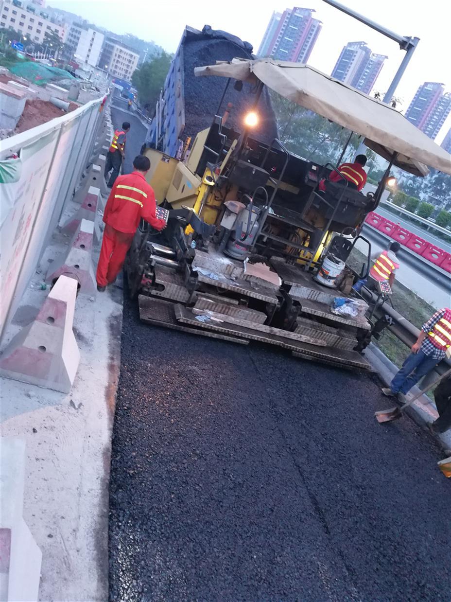 沥青面层施工工程