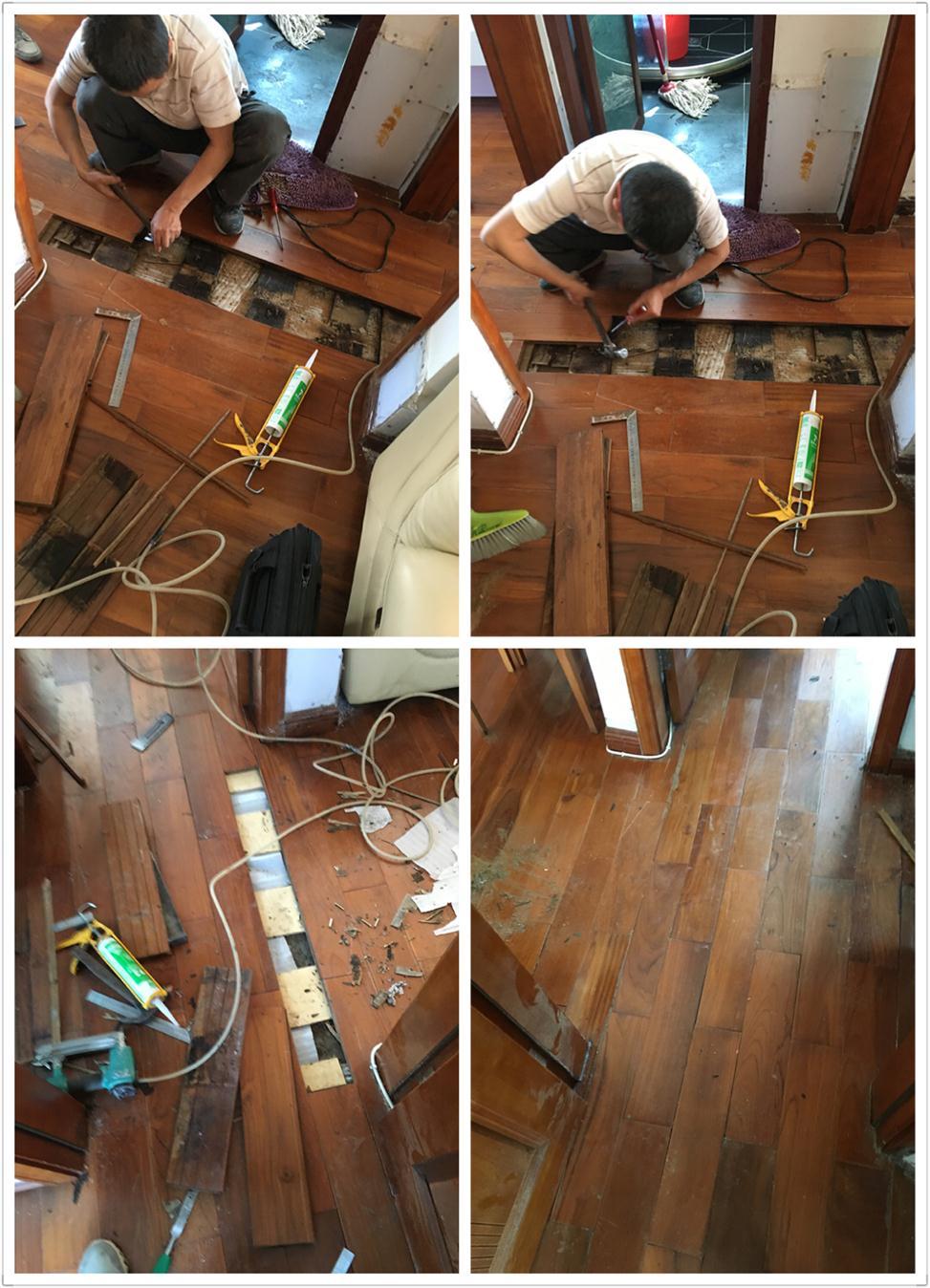 深圳多层木地板维修加工