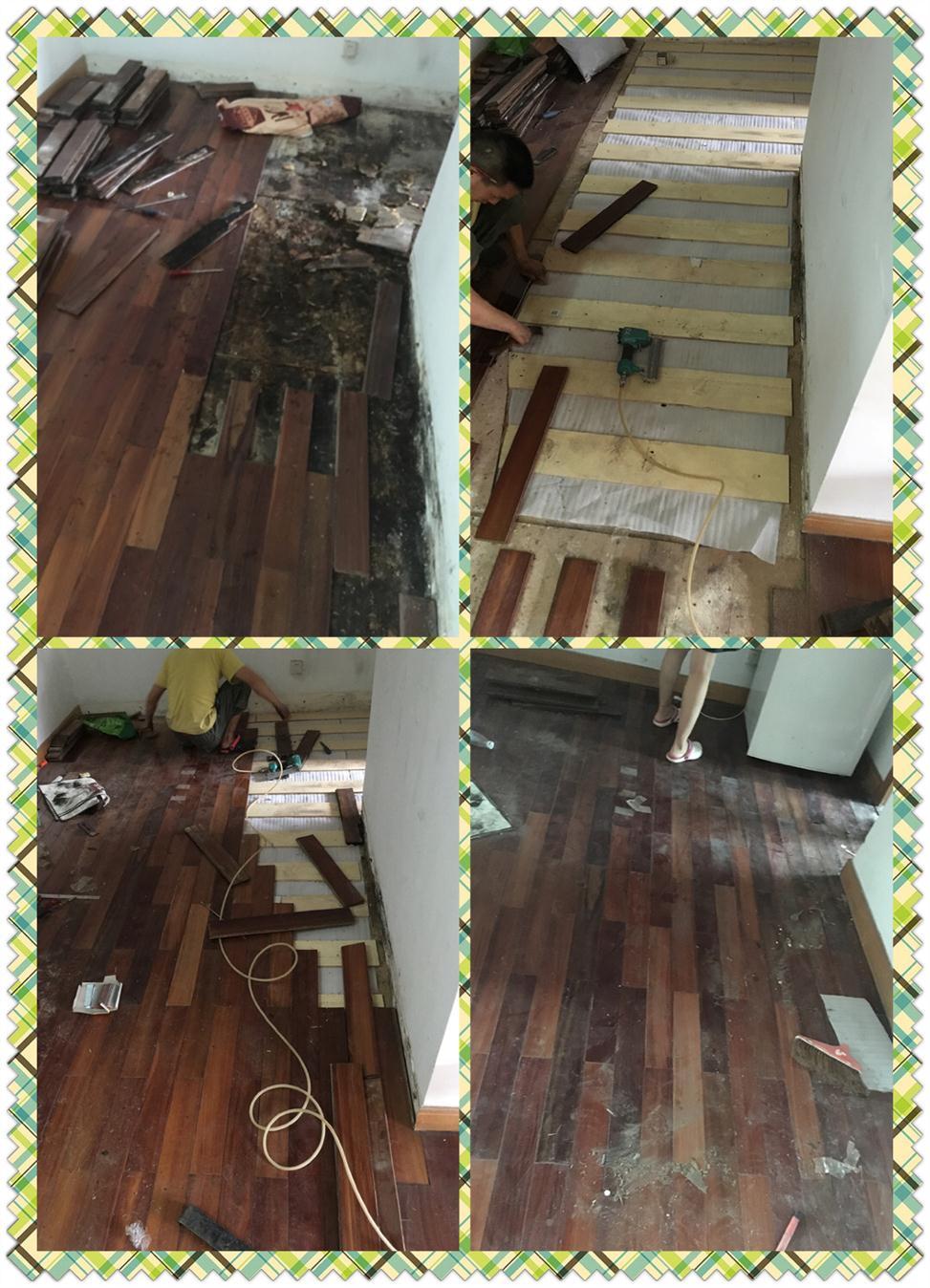 新安多层木地板维修报价