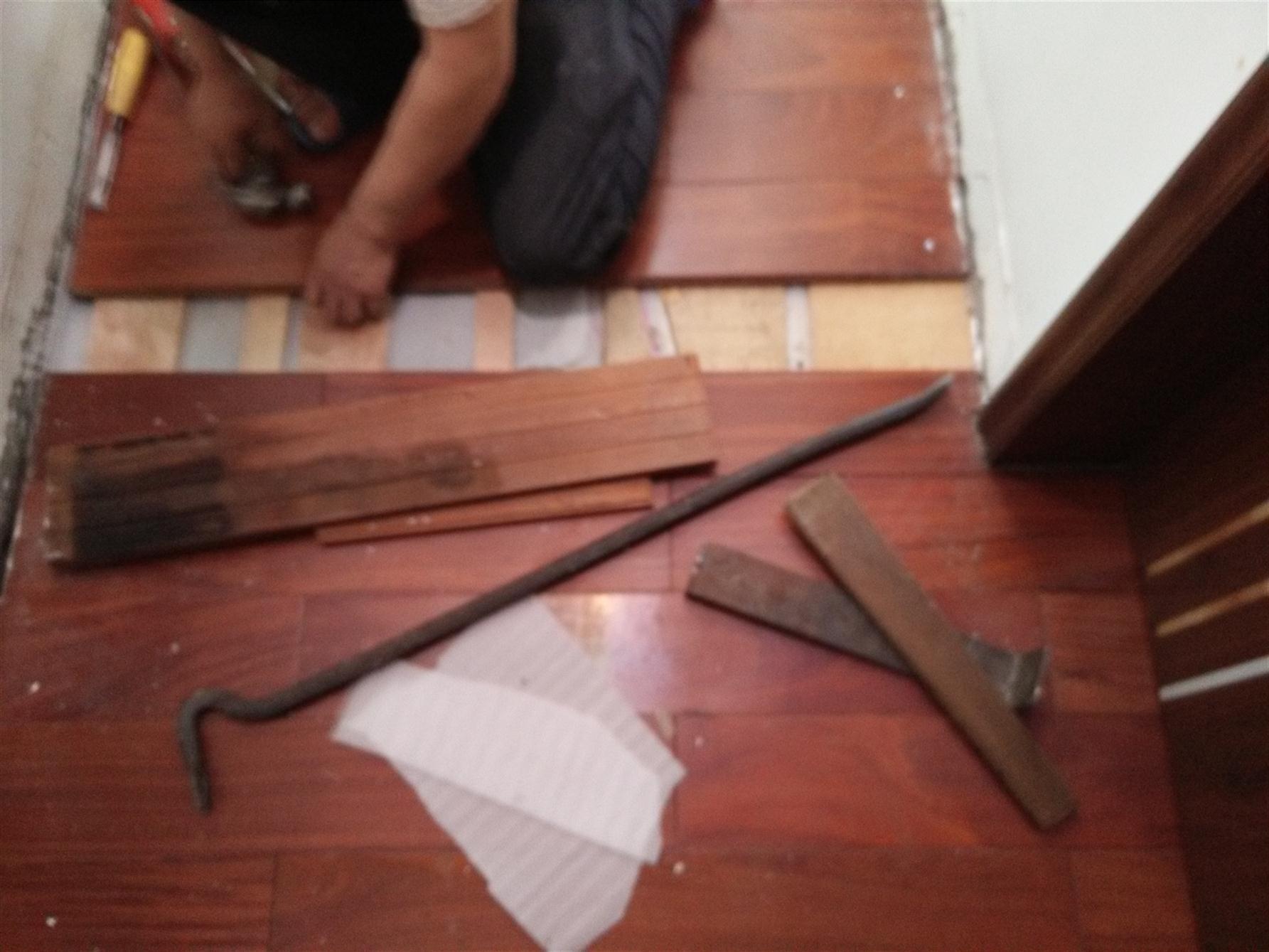 南山多层木地板维修
