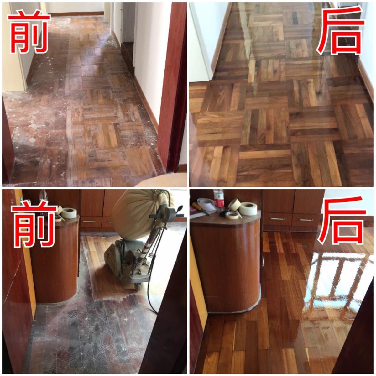 宝安实木木地板翻新厂家