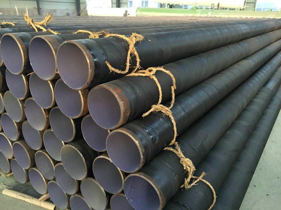 鞍山TPEP防腐钢管参观考察