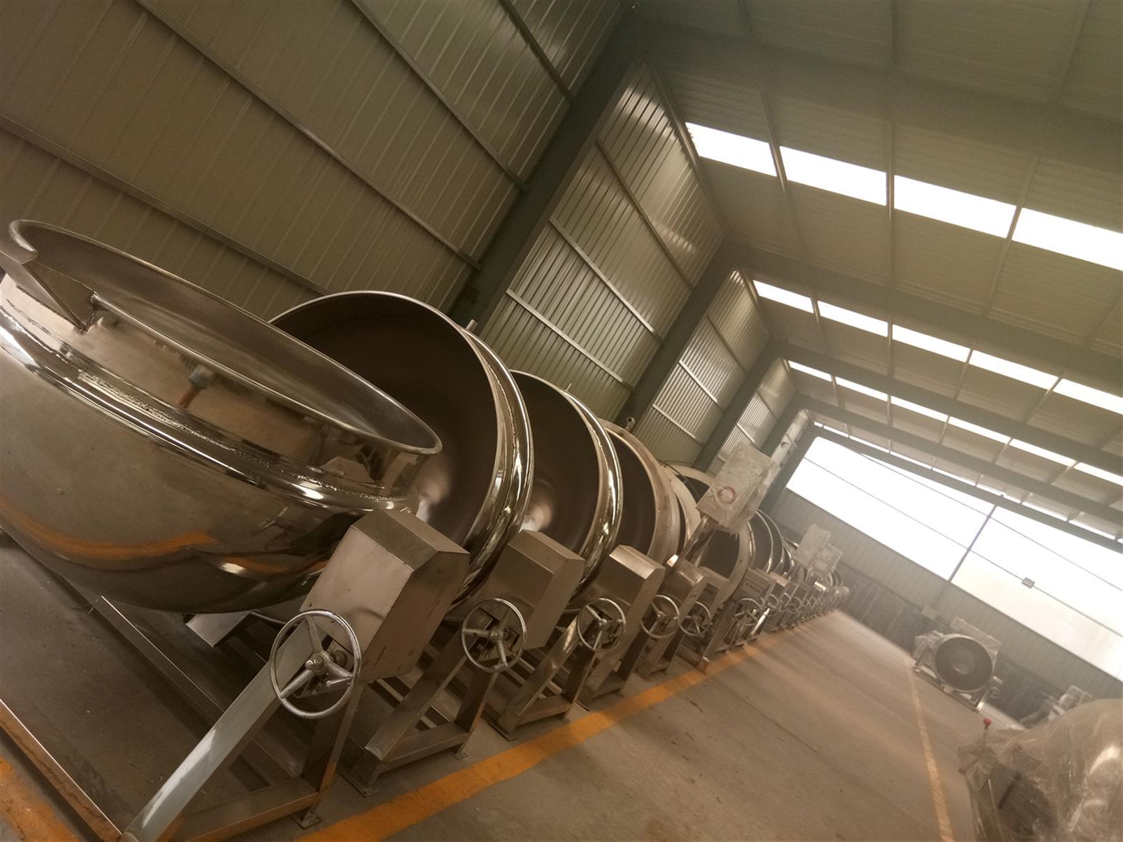 高温高压蒸汽夹层锅生产厂家
