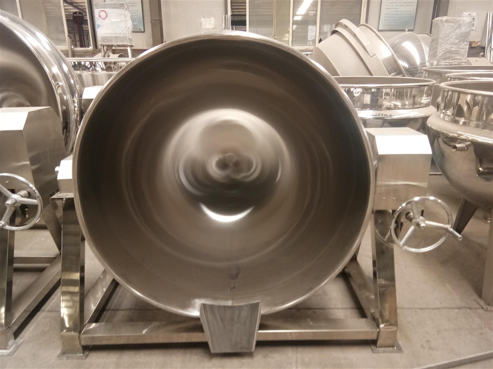 蒸汽夹层锅加工
