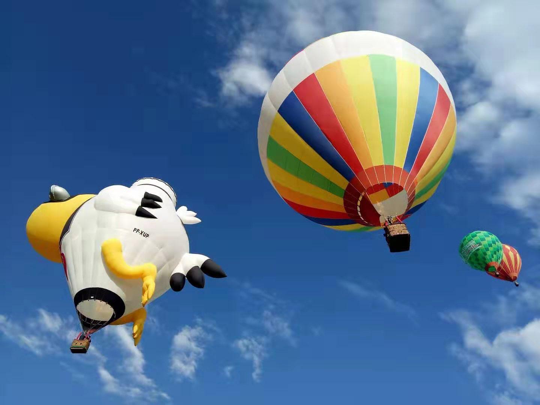 莱芜网红载人热气球飞行体验自由飞行