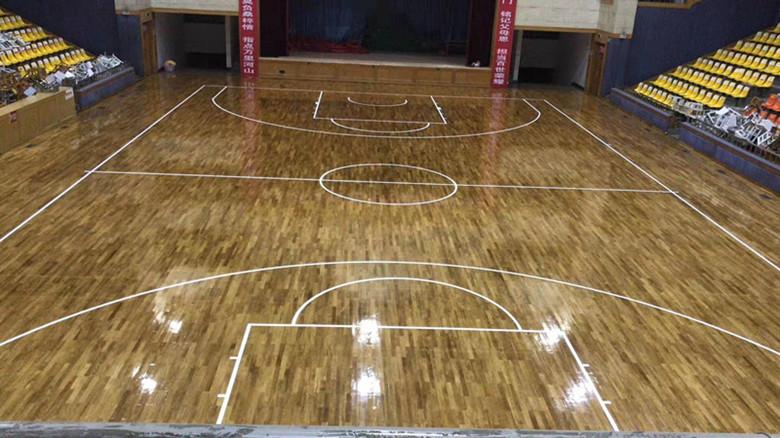 保亭黎族苗族自治县篮球馆运动木地板价格 性能稳定 安全环保