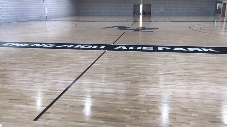 安徽篮球馆运动木地板 提供免费样品