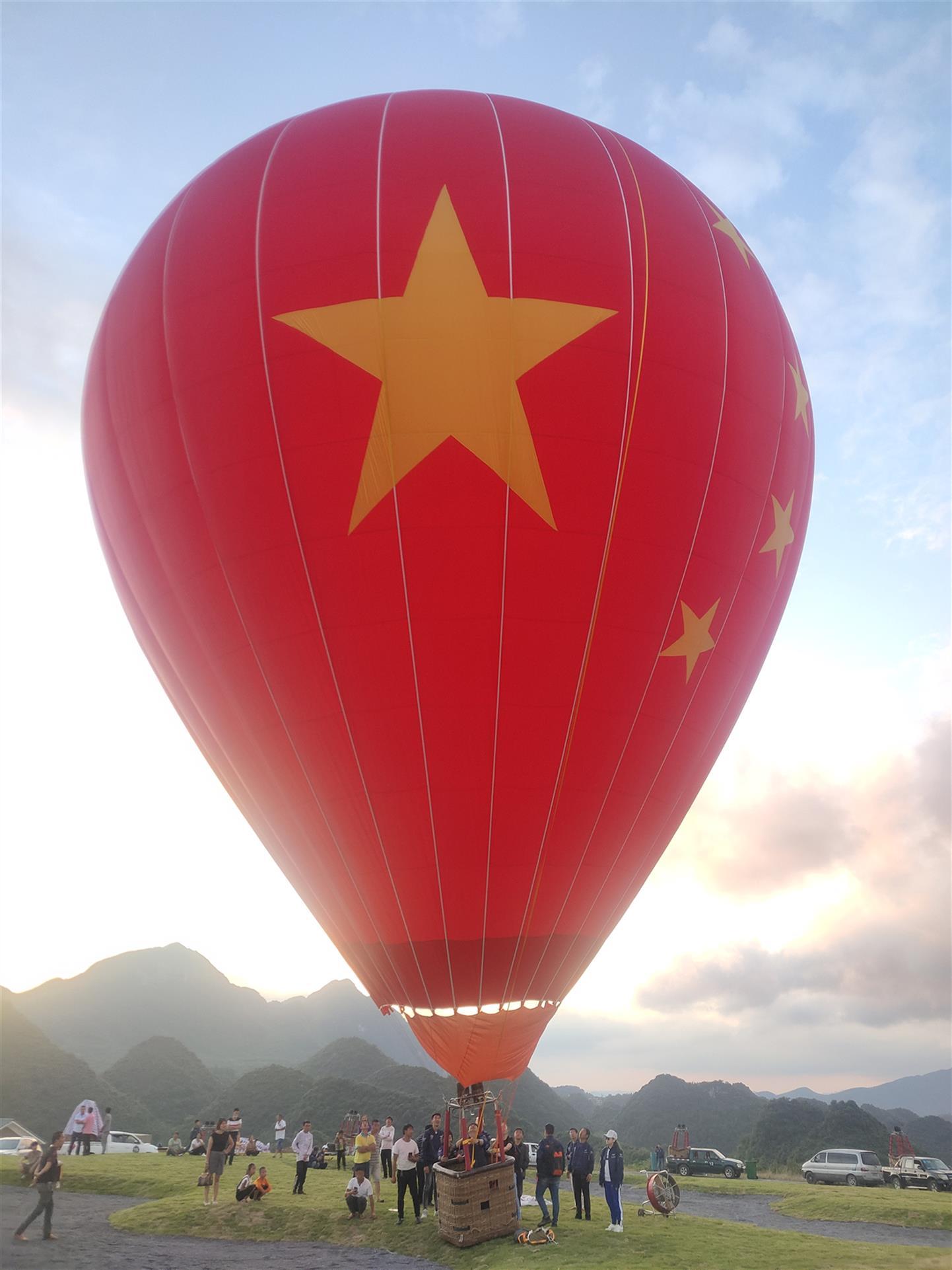 热气球广告宣传