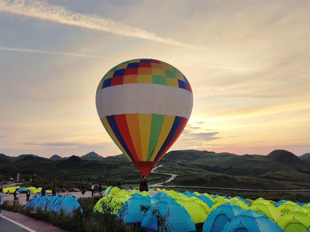 武威热气球广告宣传