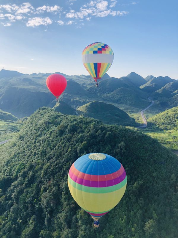 自贡热气球广告宣传