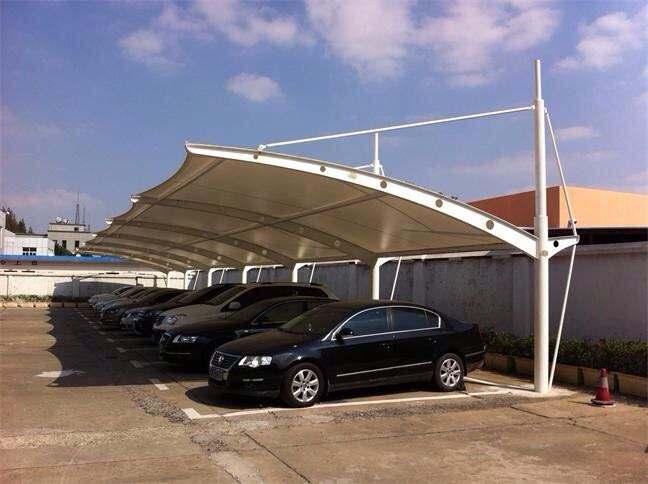 杭州环保膜结构车棚生产商