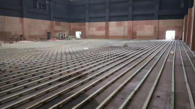 吉首市桦木羽毛球馆木地板体育馆羽毛球木地板潜水旅游圣地图片