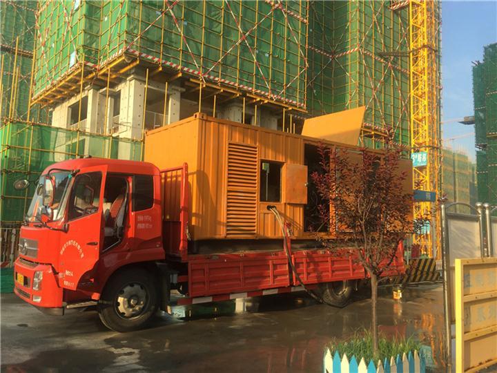 沧州发电机租赁