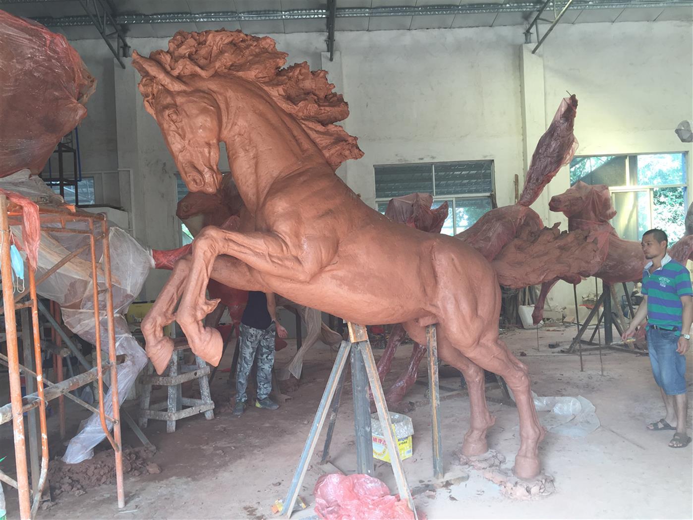 西安马雕塑