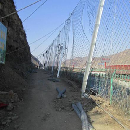 边坡防护网费用 主动防护网 高陡边坡防护网
