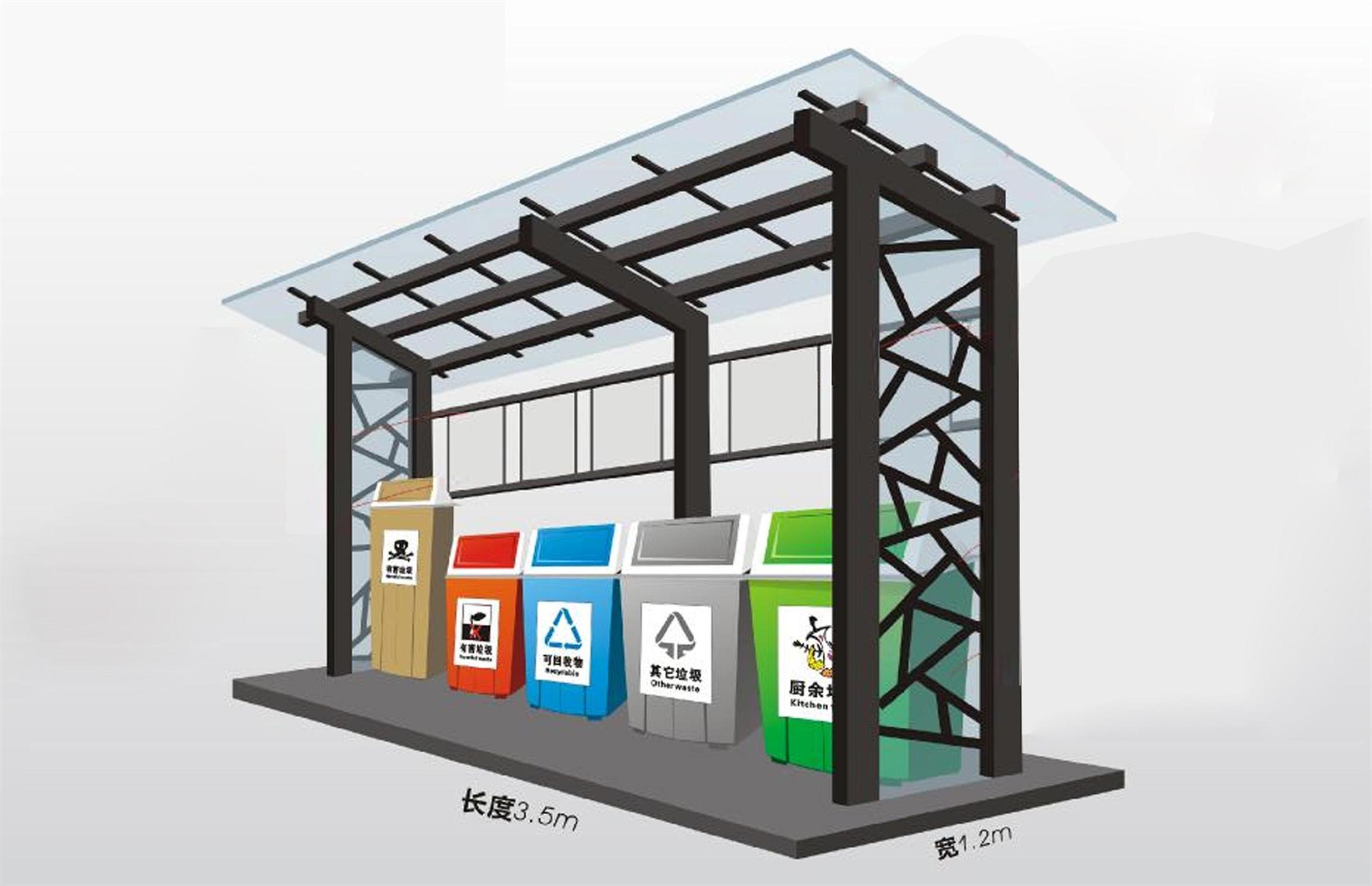 湘潭垃圾分类亭批发品牌