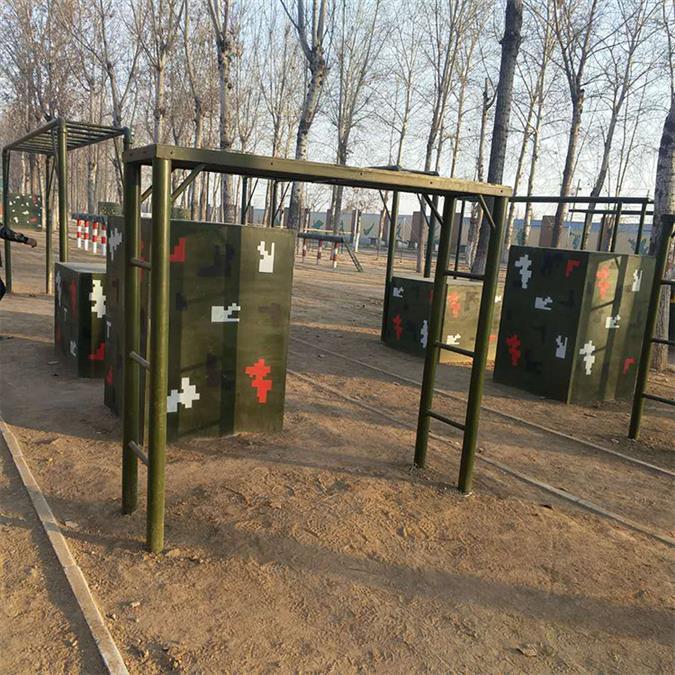 宜春部队训练用400米障碍器材生产厂家 部队400米障碍 尺寸精准