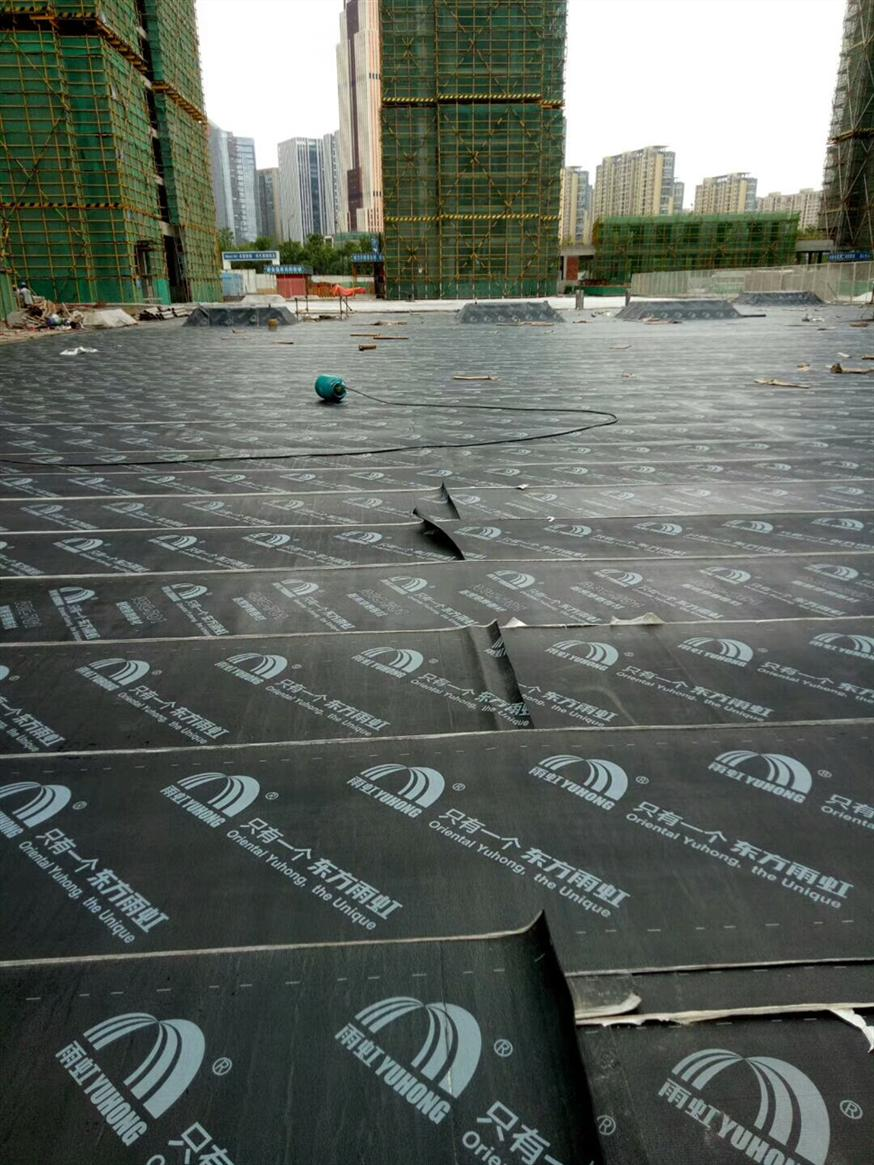屋顶防水隔热层做法