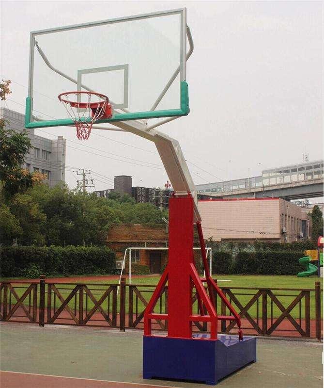 保定仿液压篮球架型号 手动液压篮球架 工艺精良 性能优异