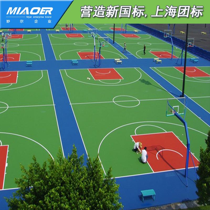 篮球场地施工工艺武义施工铺设做法