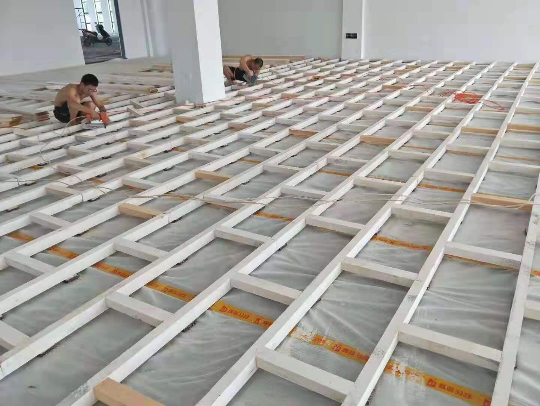 湘西枫木篮球地板