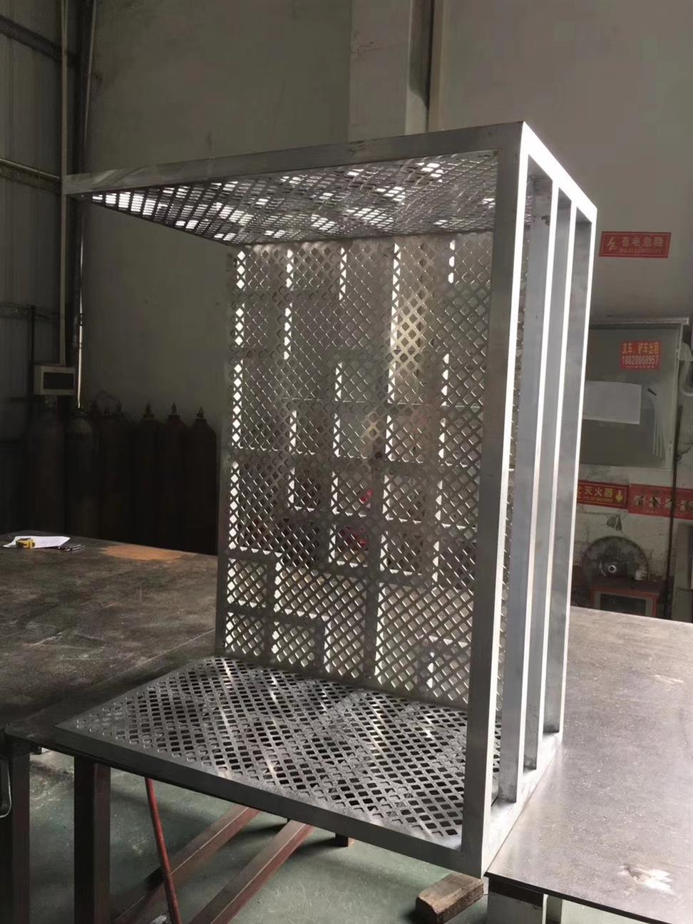 蚌埠铝窗花定制