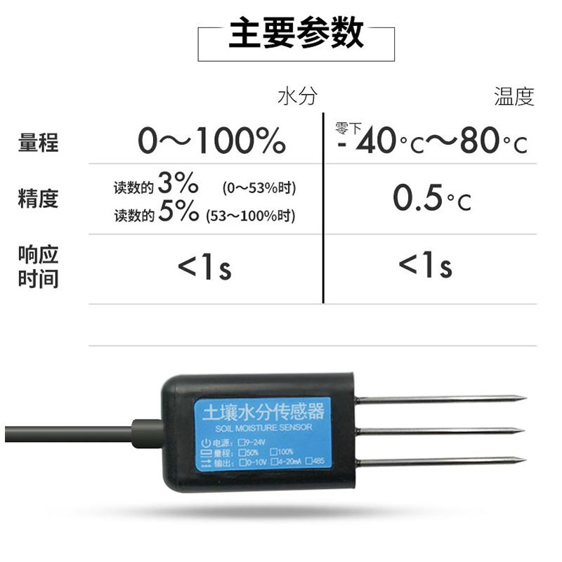 青岛土壤水分传感器厂家